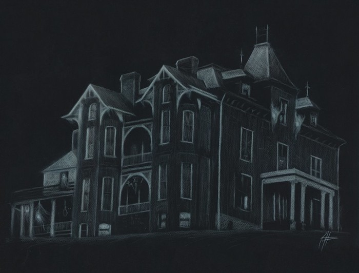 6. Haunted Graham Mansion, Max Meadows