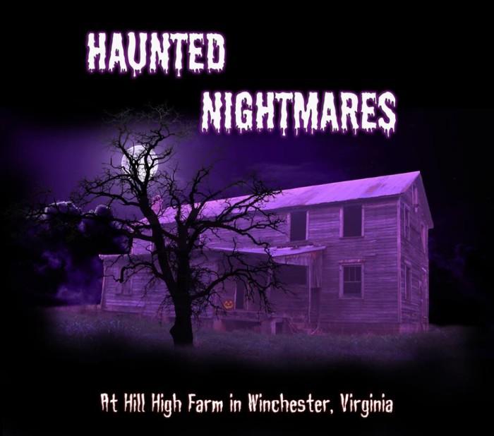 the best halloween haunted houses in virginia