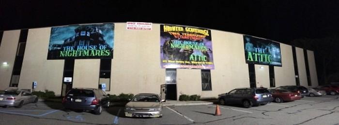 8. The Haunted Scarehouse, Wharton