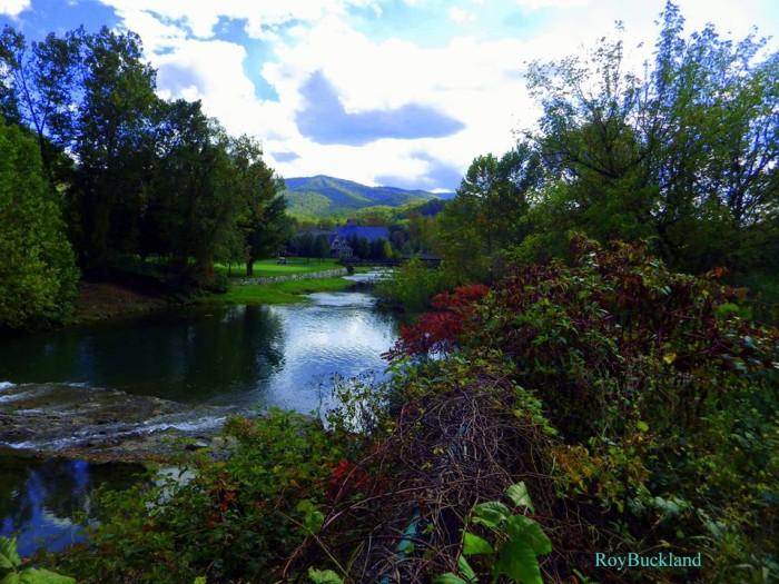 9. This shot of Howard Creek.