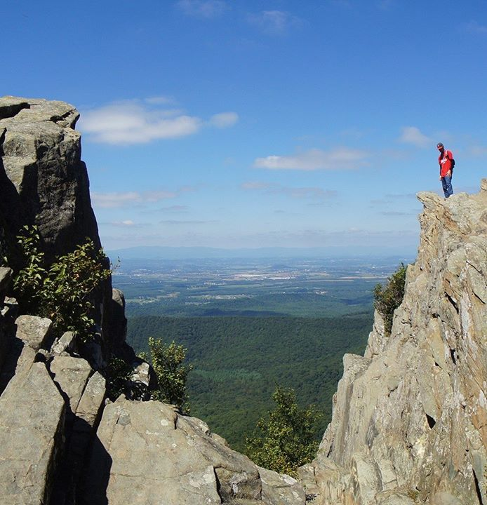 6. On top of the world at Humpback Rocks, submitted by Kahuna Jim.