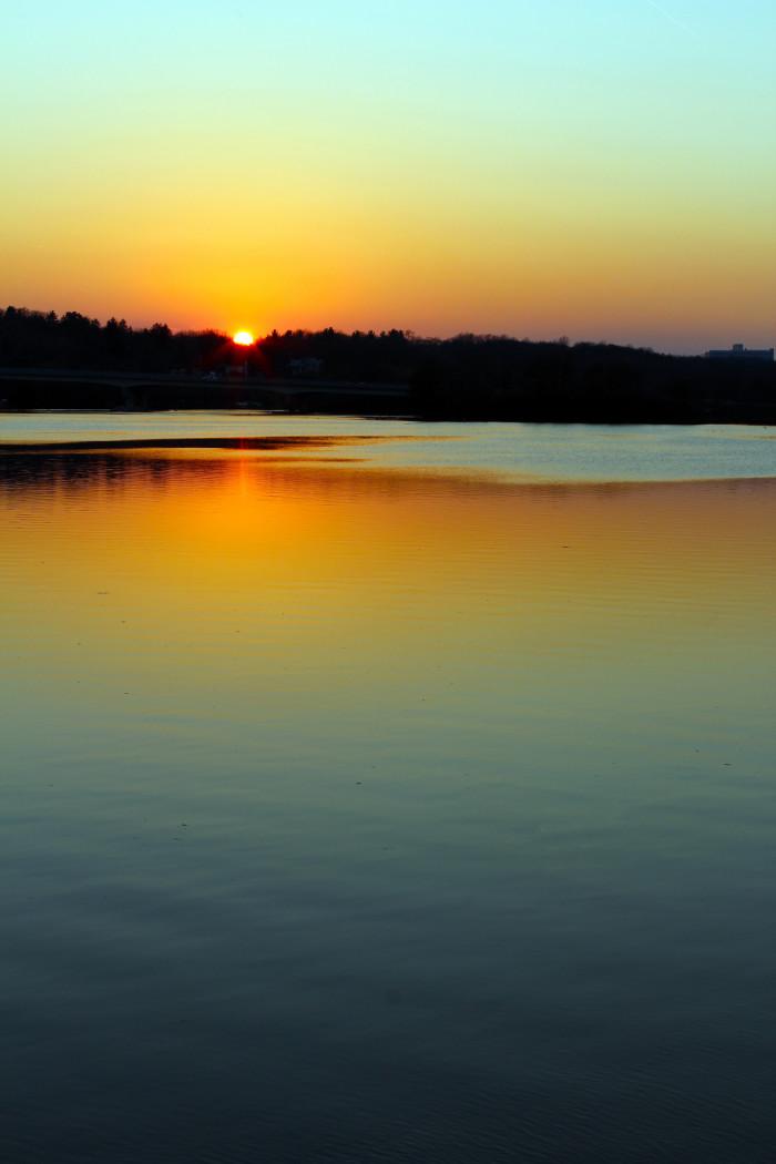 8) Huron River