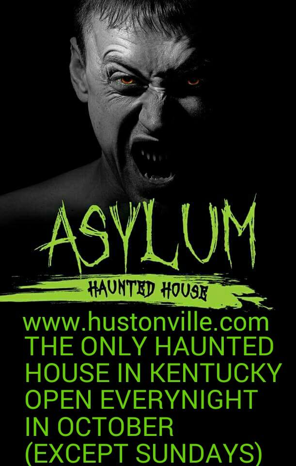 6. Hustonville Asylum Haunted House