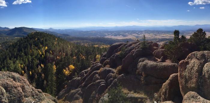 1. Radiant Raspberry Mountain!