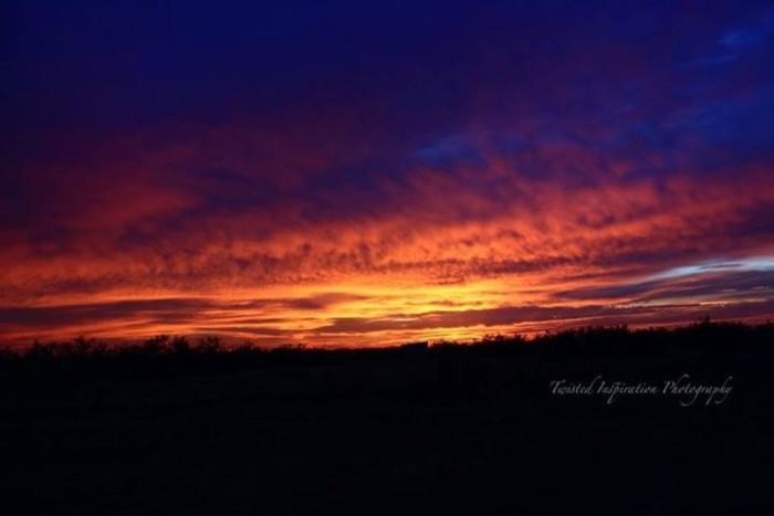 2) What an amazing sunrise photographed by Heather Knowles Fitte in Midland!