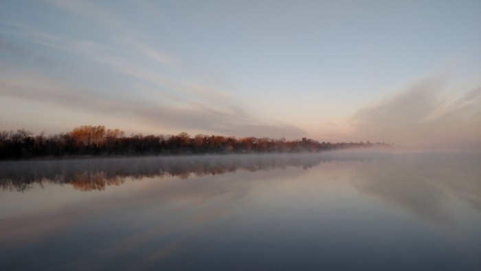 8. Becky Miller found a wonderfully serene morning to photograph!