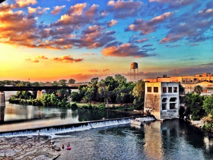 3) Breathtaking view of the Guadalupe River in New Braunfels taken by Lyndi Moon!