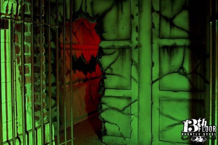 1) 13th Floor Haunted House (San Antonio)