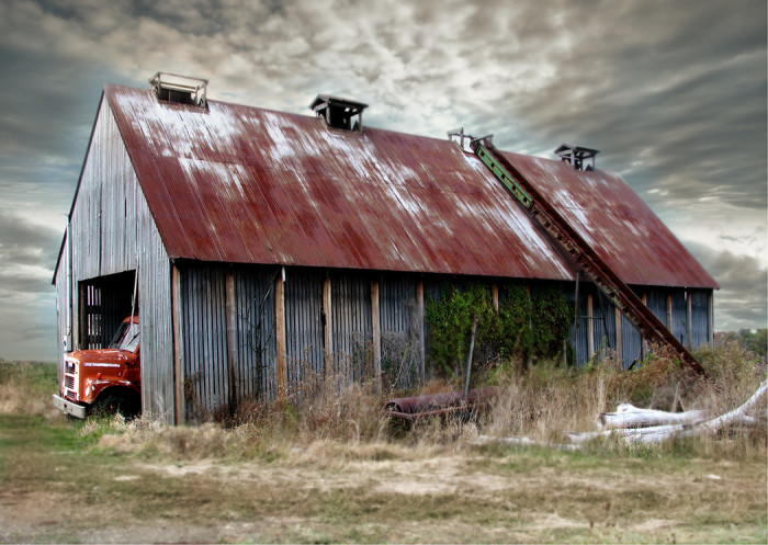 2. Old barn along Pleasant Home Rd. near Wooster, OH