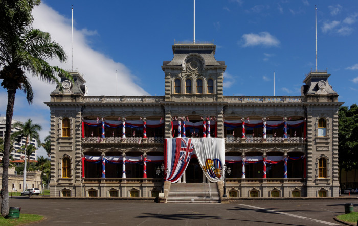 4) Iolani Palace, once home to King Kamehameha, is the only royal palace on United States soil.
