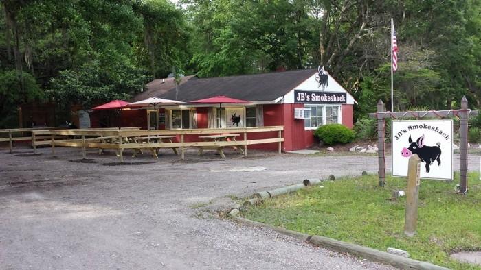 12. JB's Smokeshack, 3406 Maybank Hwy, Johns Island