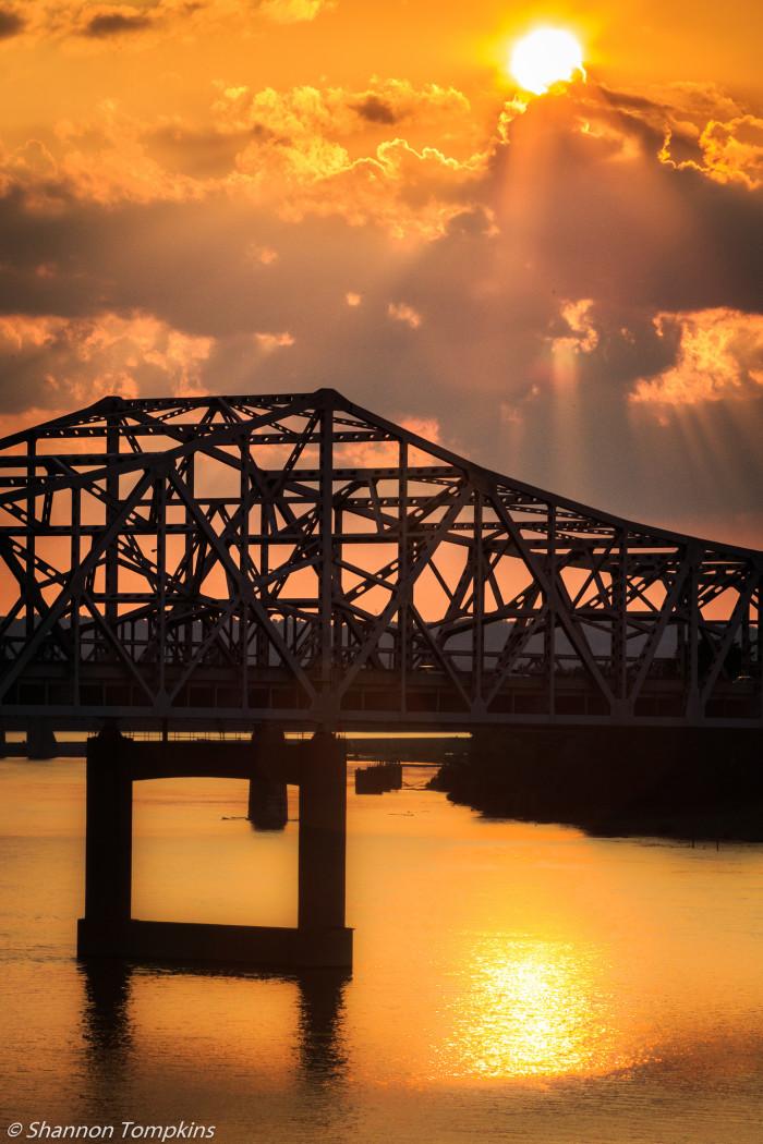 13. JFK Bridge in Louisville.