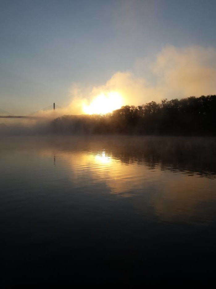 14. This ethereal scene was captured by Jamie Wells on the James River near the 295 bridge.