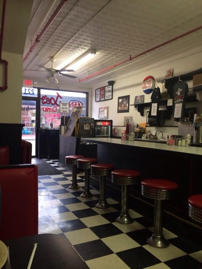4. Joe's Diner, Blacksburg