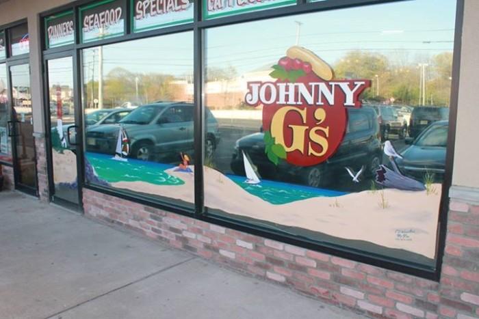 1. Johnny G's Pizzeria, Toms River