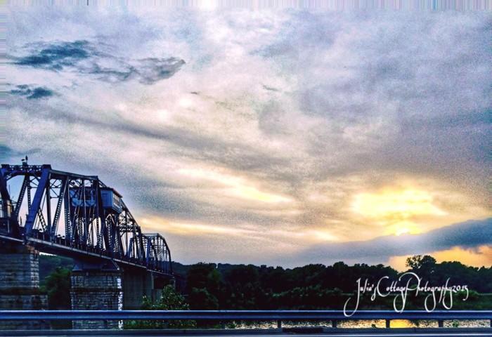 9) Julia Phillips captures the Cumberland River Bridge in Clarksville.