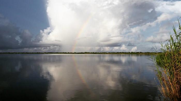 2) Rainbow in Hackberry, LA by Justin Lanclos