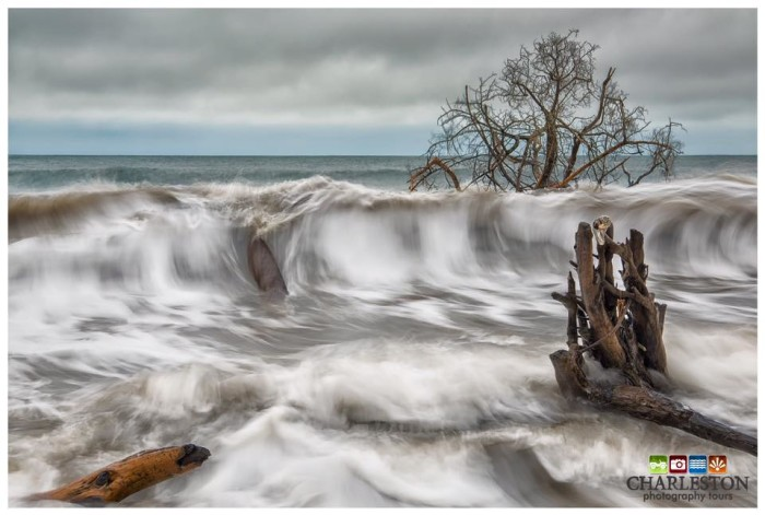 """13. """"Angry Atlantic"""" is more than perfect timing by the photographer, Keith Briley, it's synchronicity between nature and the artist."""