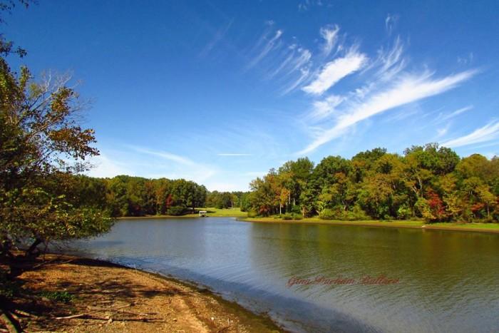 8) Kentucky Lake looks DIVINE in this shot by Gina Durham Ballard.