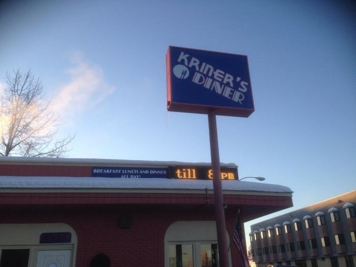 1) Kriner's Diner