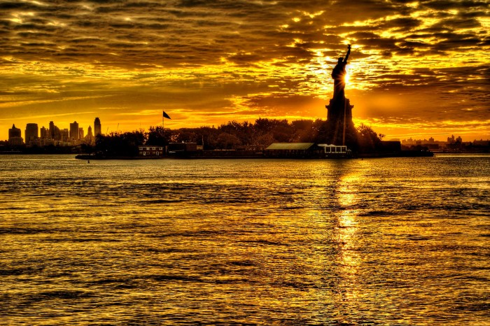 12. Lady Liberty is awe-inspiring in this shot by Gary Aidekman.