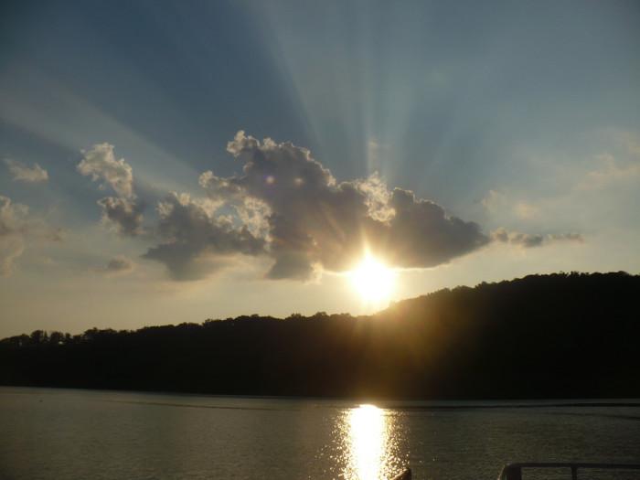1. Lake Cumberland.