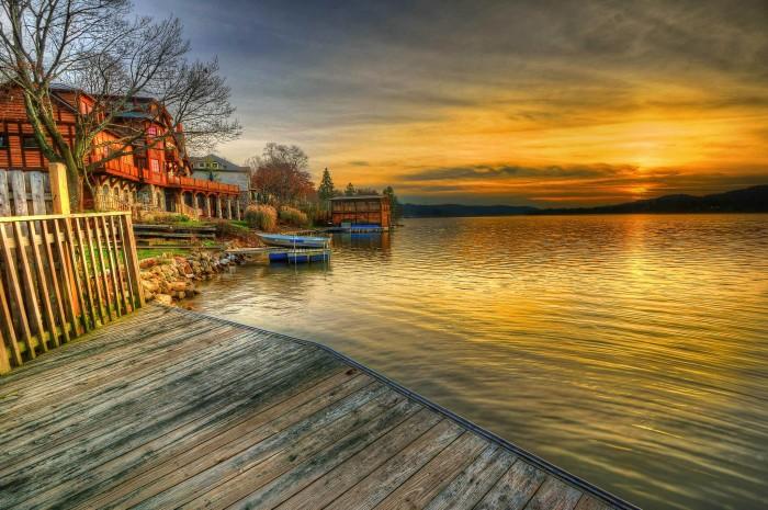 13. Lake Mohawk looks amazing in this shot by Gary Aidekman.