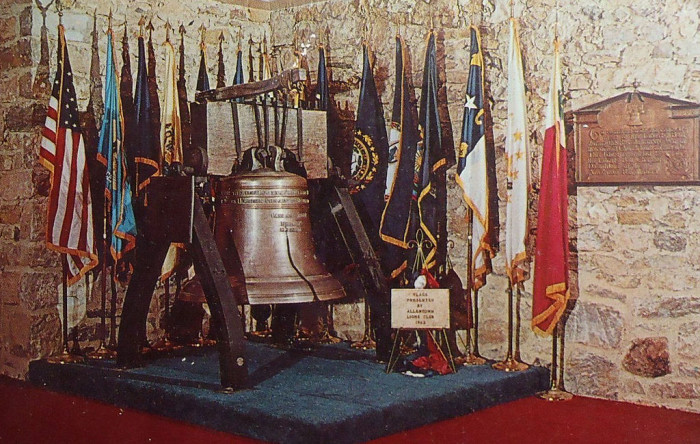 6. The Liberty Bell once had to hide out in a basement.