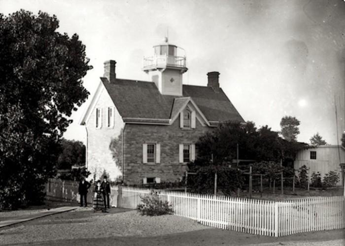 7. Lighthouse at Cedar Point in Sandusky, OH (Circa 1900)