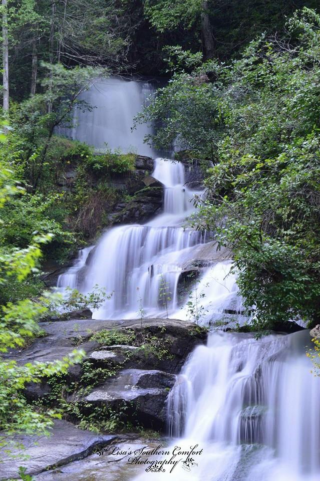 11. Lisa LaBrecque has done it again with this amazing shot of Twin Falls in Pickens County.