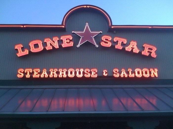 10) Lone Star Steakhouse