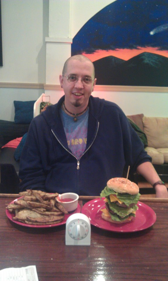 """6. Lucky Star Lounge """"Challenge Burger"""" - Front Royal"""
