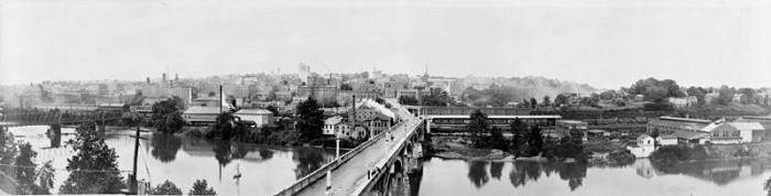 2. Lynchburg panorama, c. 1919.