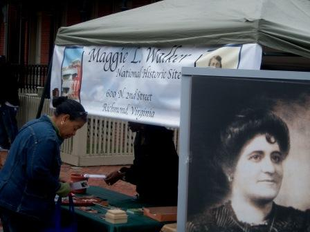 12. We paved the way for women and minorities in business with Maggie Walker.