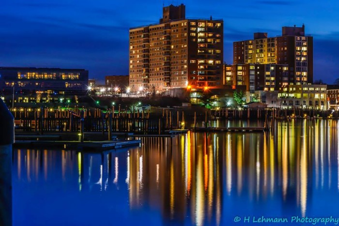 7. A lovely evening in Marine Park, Red Bank. Taken by Harold Lehmann.