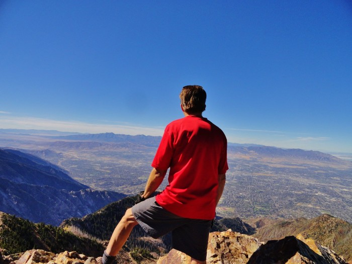 20. Michael Boman hiked 11,330 feet to the top of Twin Peaks to capture this shot. It was clearly worth the hike!