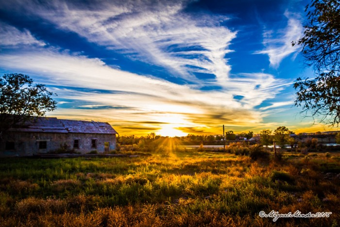 4. This photo that Miguel Mendez took of Jensen, Utah is full of color.