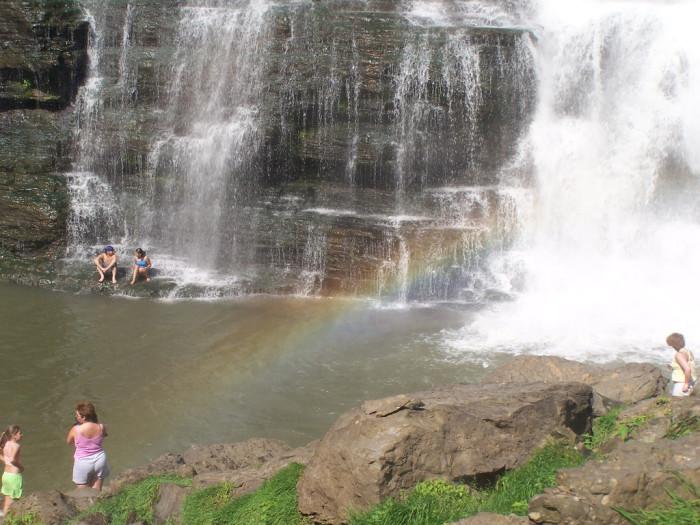 6) Watery rainbows make the best rainbows.