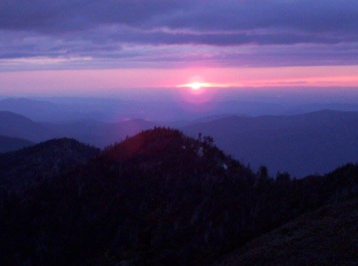 4) This Mt. Leconte Sunset is killer - thanks, Garry Reed!