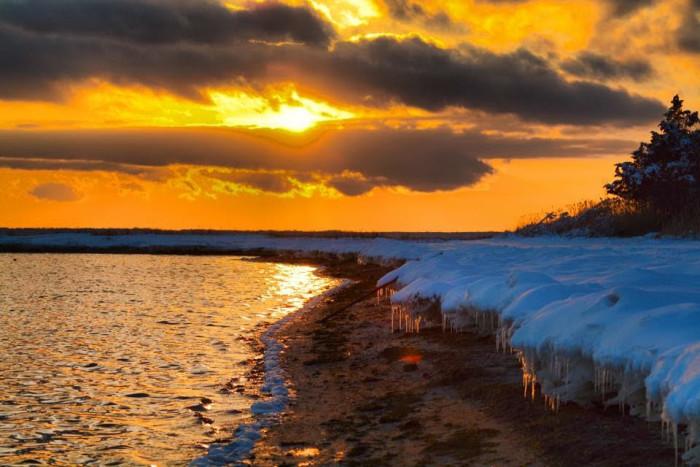 14. A magical shot of Mystic Island, taken by Rob Libonati.