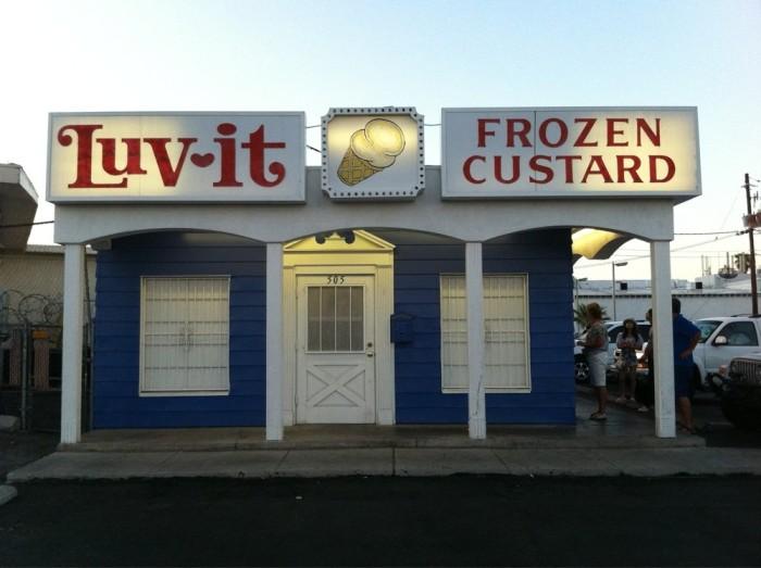 10. Frozen Custard - Luv-It Frozen Custard / Las Vegas