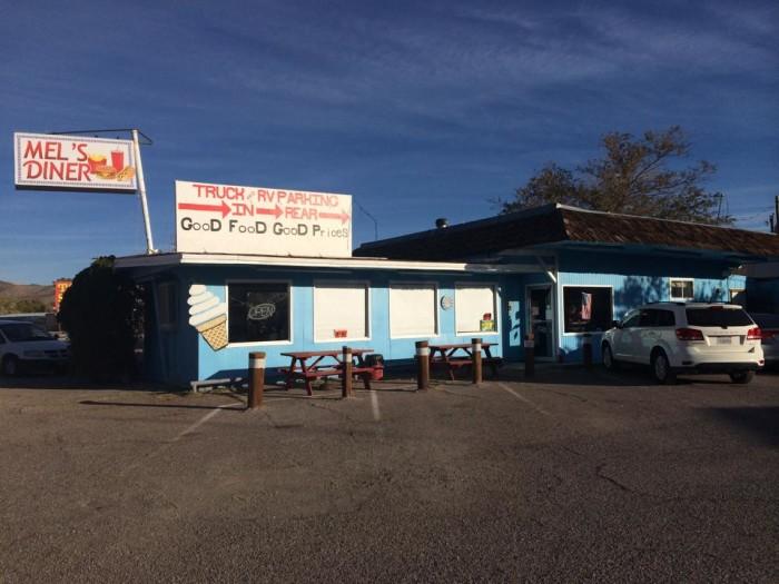 5. Mel's Diner - Beatty, NV