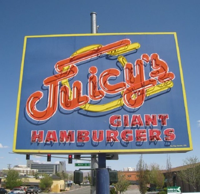 1. Juicy's Giant Hamburgers - Reno, NV