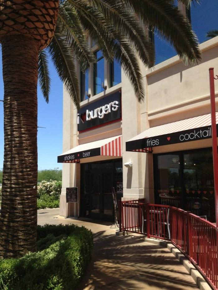 9. I Love Burgers - Las Vegas, NV