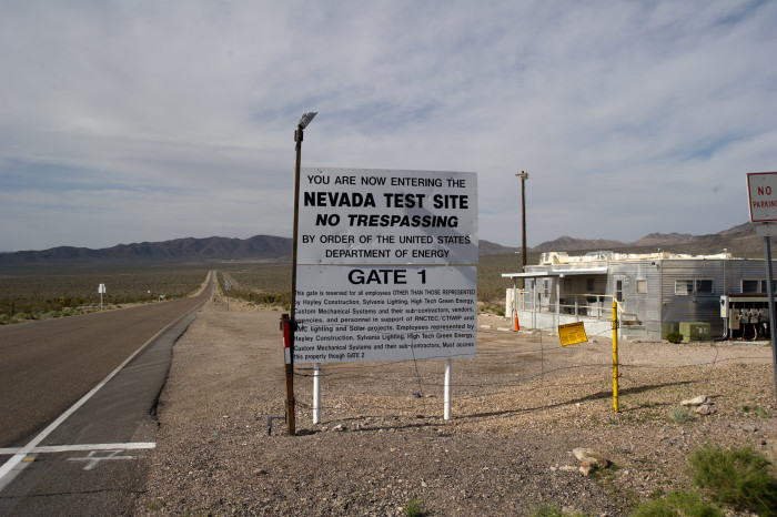 6. Between the years 1951 and 1992, a total of 928 nuclear tests were conducted at the Nevada Test Site, 65 miles northwest of Las Vegas.