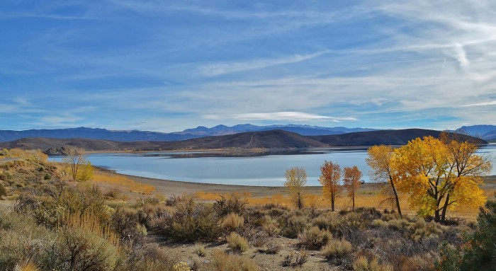 18. A breathtaking view of Topaz Lake Park in Gardnerville, Nevada.