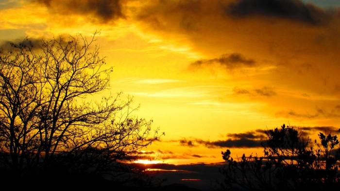 8. A beautiful Virginia City sunrise.