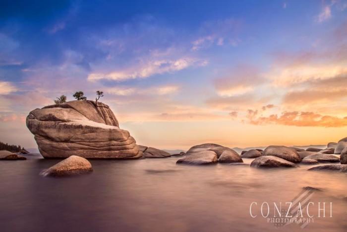 15. Bonsai Rock, Lake Tahoe