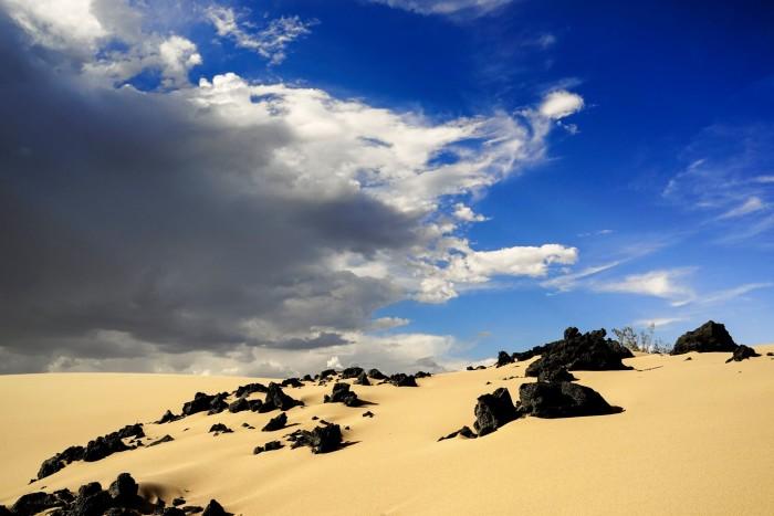 19. A breathtaking scene captured in Amargosa Valley, Nevada.