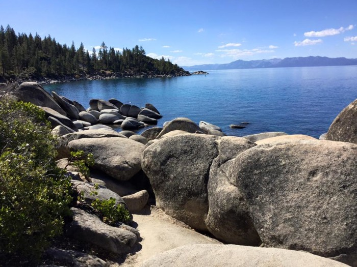 5. A lovely view of Lake Tahoe on North Shore.